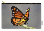 Butterfly - Sitting On The Green Carry-all Pouch