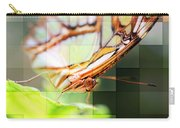 Butterfly Frosted Glass Carry-all Pouch