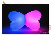 Butterfly Glowing Shape Carry-all Pouch