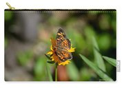 Butterfly Gold Carry-all Pouch