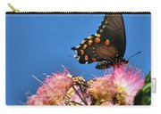 Butterfly On Mimosa Blossom Carry-all Pouch