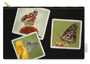 Butterfly Picture Page Collage Carry-all Pouch