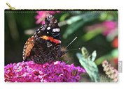 Butterfly Plant At Work Carry-all Pouch