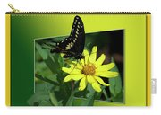 Butterfly Swallowtail 01 16 By 20 Carry-all Pouch
