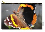 Butterfly Tai Chi On Lantana Luscious Lemonade Carry-all Pouch