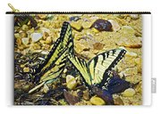 Butterlies At The Beach Carry-all Pouch