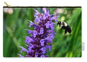 Buzzing Hyssop Carry-all Pouch