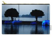By Night Zurich Lake Switzerland Carry-all Pouch