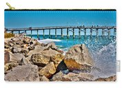 By The Pier Carry-all Pouch by Betsy Knapp