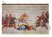 Byzantines Cavalrymen Pursuing The Rus Carry-all Pouch