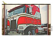 Cab-over Kenworth Carry-all Pouch