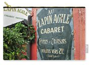 Cabaret Sign Carry-all Pouch