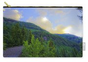 Cabin On The Mountain - Vail Carry-all Pouch