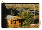 Cabin On The River Carry-all Pouch