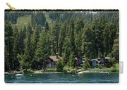 Cabins On The Lake Tahoe Carry-all Pouch