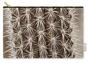 Cactus 19 Sepia Carry-all Pouch