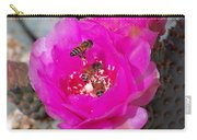 Cactus Flower Buzz Carry-all Pouch