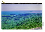 Cadillac Mt  Mt Desert Island Me Ocean View Carry-all Pouch
