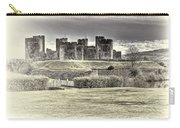 Caerphilly Castle Cream Carry-all Pouch