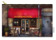 Cafe - Ny - Chelsea - Mappamondo  Carry-all Pouch by Mike Savad