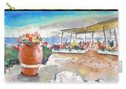 Cafe On Agios Georgios Beach Carry-all Pouch