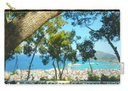 Cafe Terrace At Bohali Overlooking Zante Town Carry-all Pouch