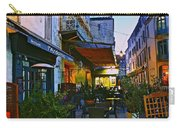 Cafe Terrace On The Place Du Forum Carry-all Pouch