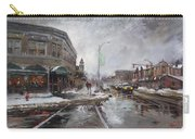Caffe Aroma In Winter Carry-all Pouch