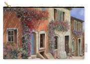Caffe Sulla Discesa Carry-all Pouch by Guido Borelli