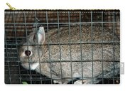 Caged Rabbit Carry-all Pouch