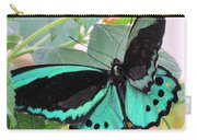 Butterfly Of Many Colors Carry-all Pouch