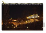 Calahorra At Night Carry-all Pouch by RicardMN Photography
