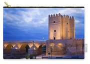 Calahorra Tower And Roman Bridge In Cordoba Carry-all Pouch