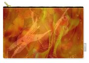 Caliente On Fire With Butterflies Carry-all Pouch