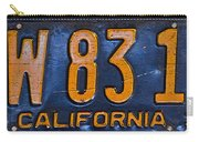 California 1937 Carry-all Pouch