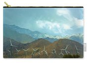 California Desert In Winter Carry-all Pouch