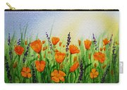 California Poppies Field Carry-all Pouch