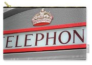 Call Me In London Carry-all Pouch