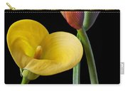 Calla Lilies Still Life Carry-all Pouch by Garry Gay