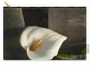 Calla Lily And Fence Carry-all Pouch