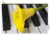 Calla Lily On Keyboard Carry-all Pouch