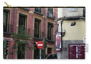 Calle De Vergara Madrid Carry-all Pouch