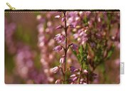 Calluna Vulgaris Carry-all Pouch