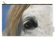 Camargue Horse Equus Caballus Eye Carry-all Pouch