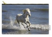 Camargue Horse Equus Caballus Running Carry-all Pouch