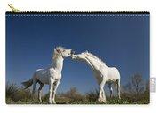 Camargue Horse Equus Caballus Stallions Carry-all Pouch