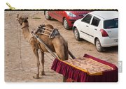 Camel Ready To Take Tourists For A Desert Safari Carry-all Pouch
