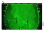 Cameo In Green Carry-all Pouch
