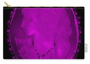 Cameo In Purple Carry-all Pouch
