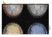 Cameo In Quad Colors Carry-all Pouch